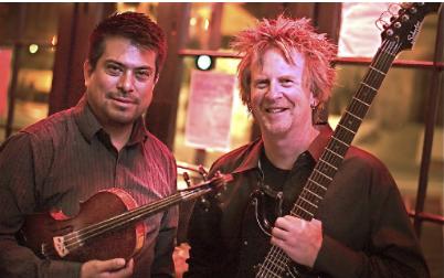 Hekar Rivera and Steve Sunnarborg
