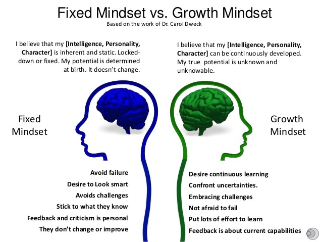 Fixed Mindset vs Growth Mindset – Rio School District