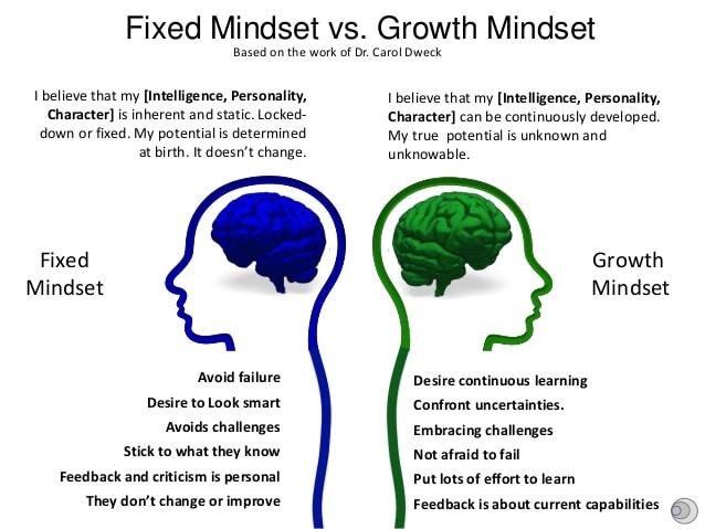 Fixed Mindset vs Growth Mindset – Rio School District